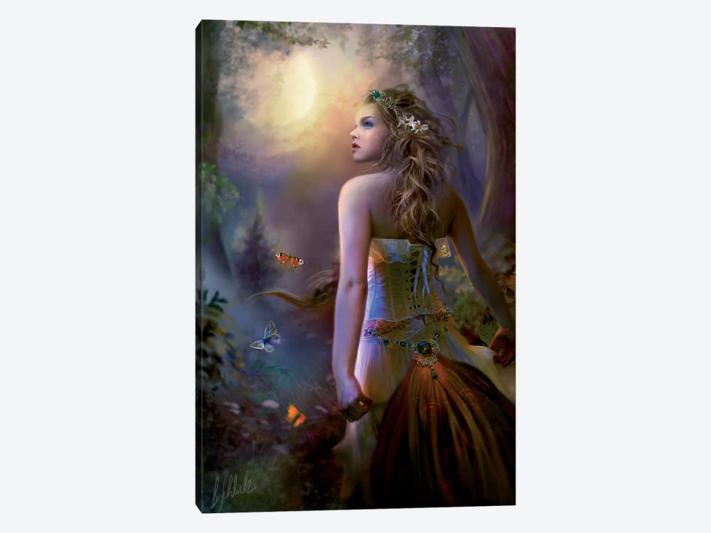 Moon Called 1-piece Canvas Print
