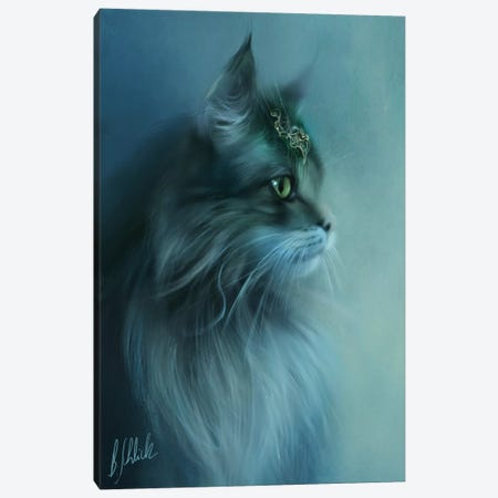 Noble Canvas Print #BNT78} by Bente Schlick Art Print