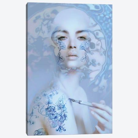 China Canvas Print #BNT9} by Bente Schlick Canvas Art Print