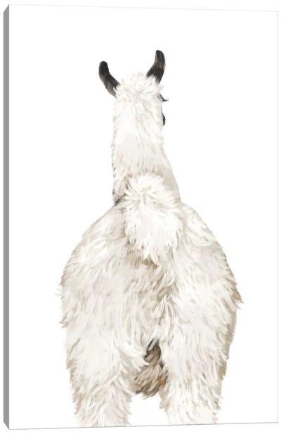 Llama Butt Canvas Art Print