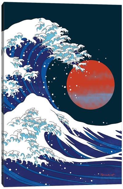 Cat Wave I Canvas Art Print