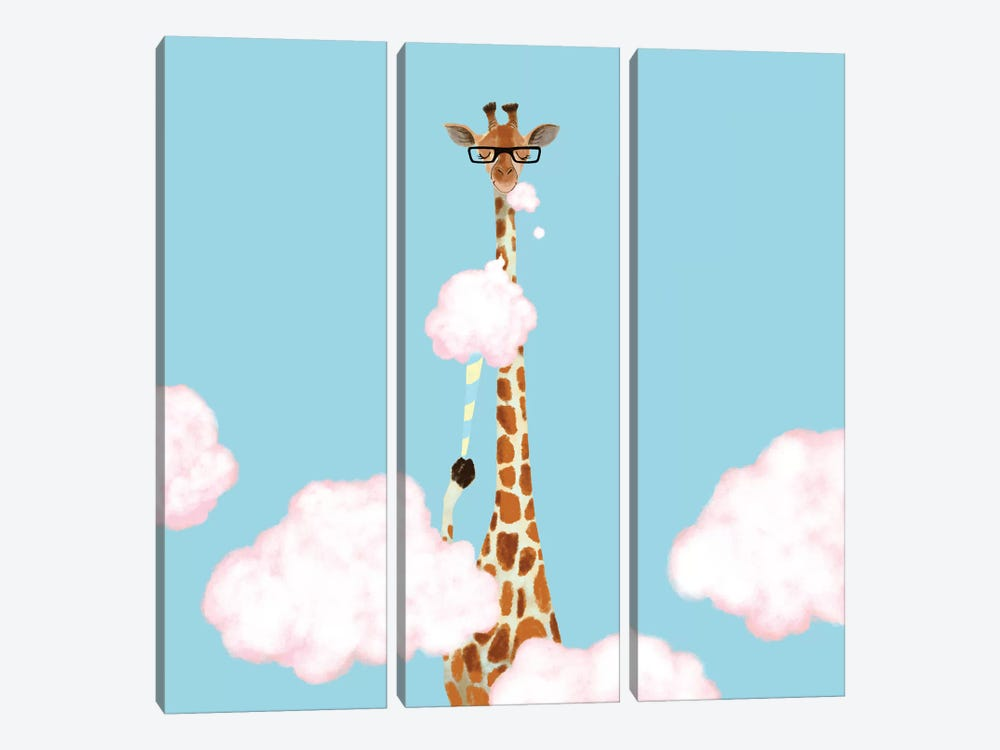 Cloud Candy by Big Nose Work 3-piece Canvas Art Print