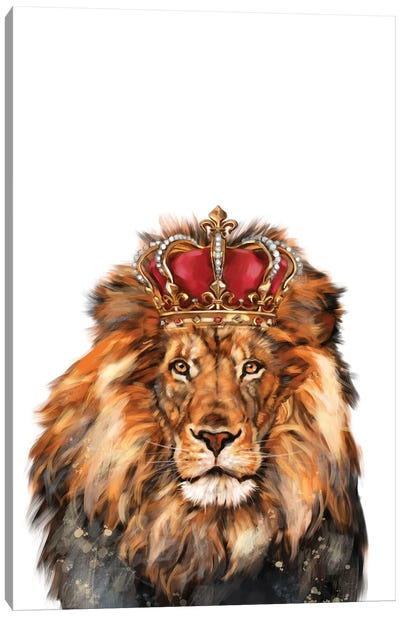 Lion King Canvas Art Print