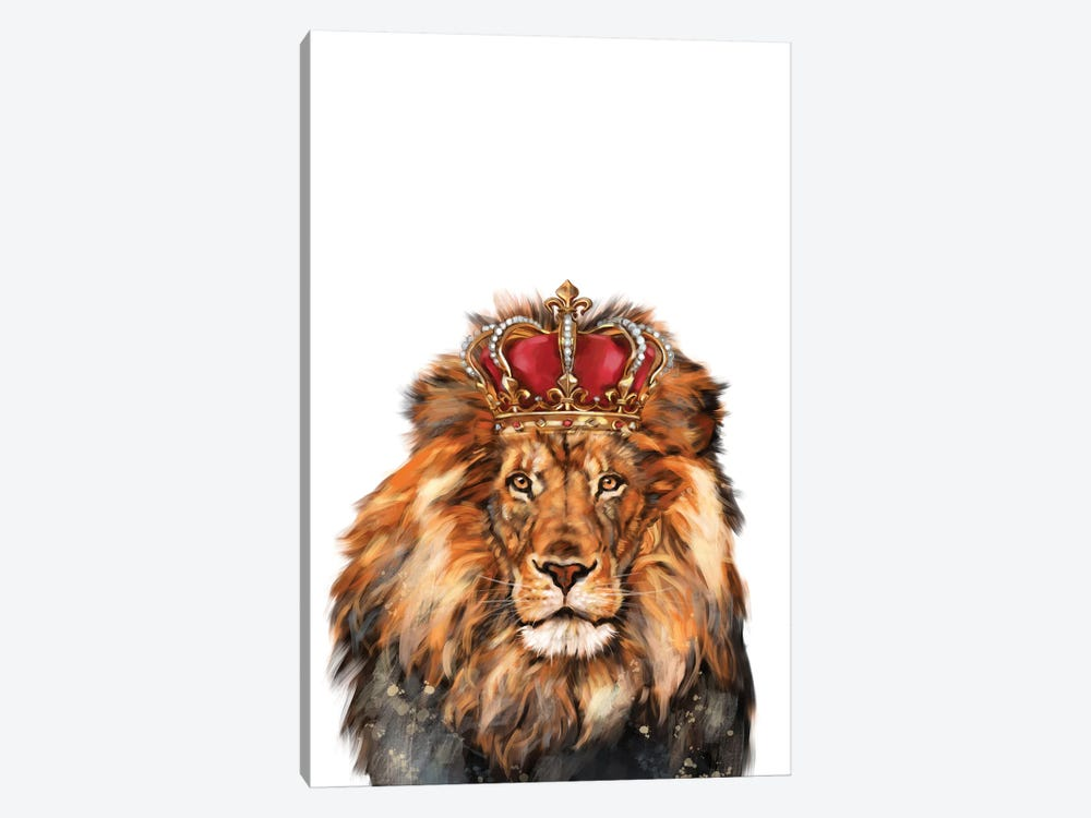 Lion King by Big Nose Work 1-piece Canvas Art