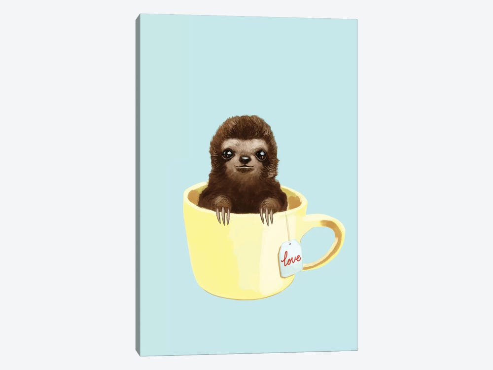 Love Sloth by Big Nose Work 1-piece Art Print