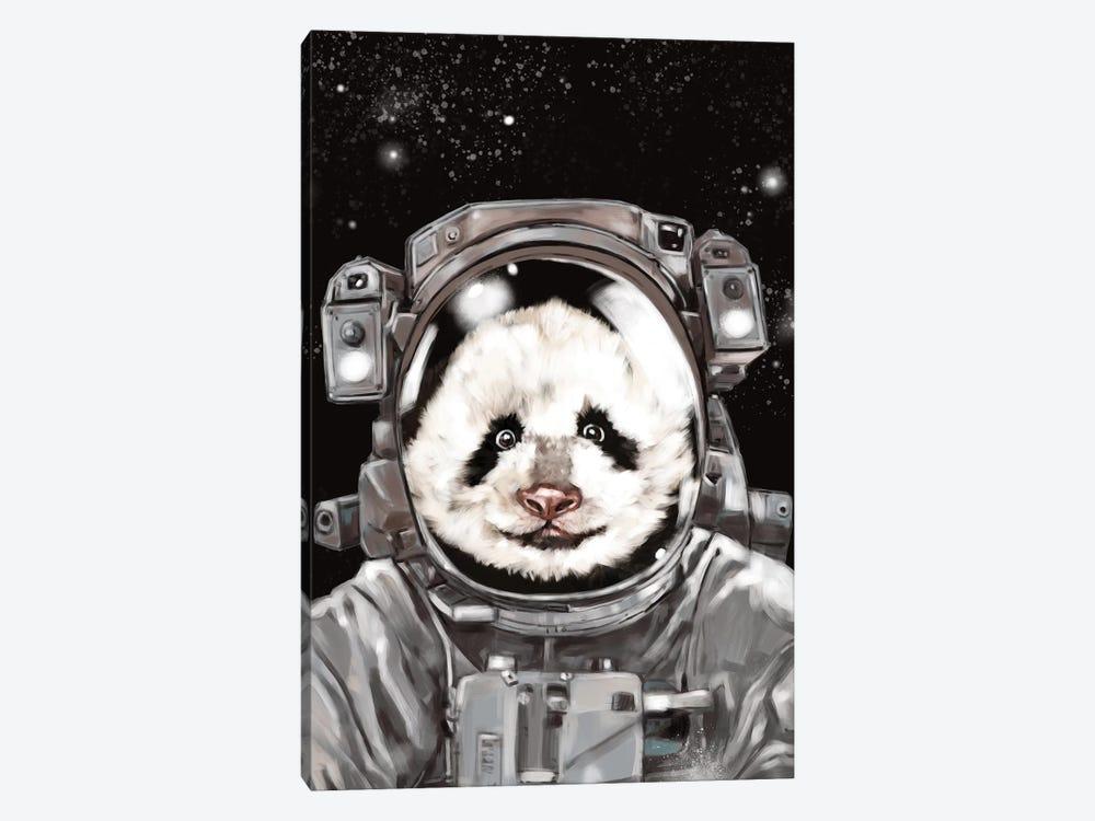Astronaut Panda Selfie by Big Nose Work 1-piece Canvas Art Print