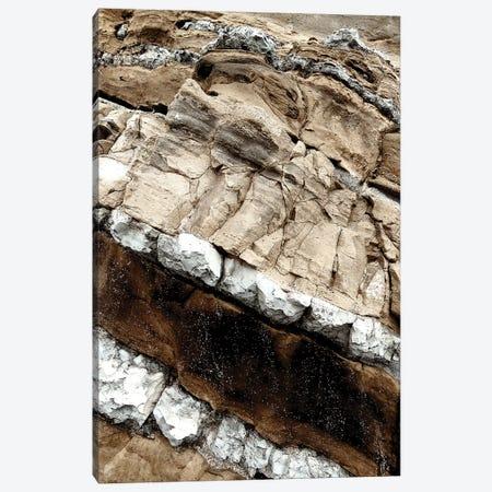 Sea Rocks - Natural - XIII 3-Piece Canvas #BNZ112} by 33 Broken Bones Canvas Art
