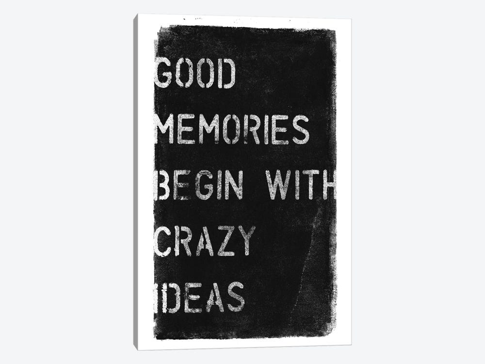 Crazy Ideas I by 33 Broken Bones 1-piece Canvas Artwork