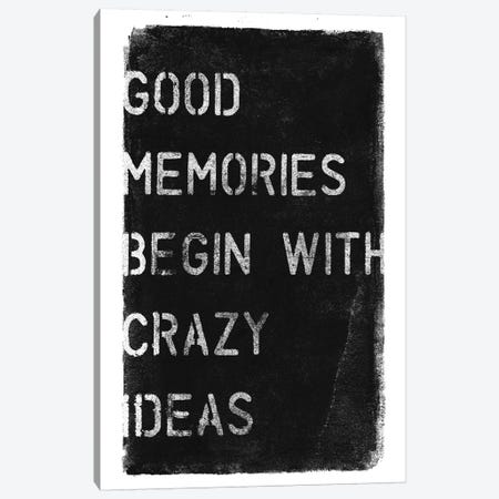 Crazy Ideas I Canvas Print #BNZ11} by 33 Broken Bones Canvas Print
