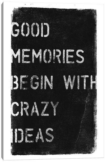 Crazy Ideas I Canvas Art Print