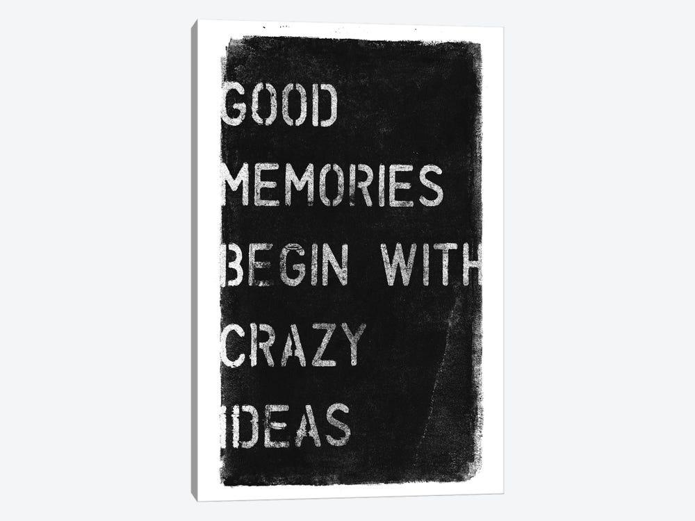 Crazy Ideas I by 33 Broken Bones 1-piece Canvas Artwork