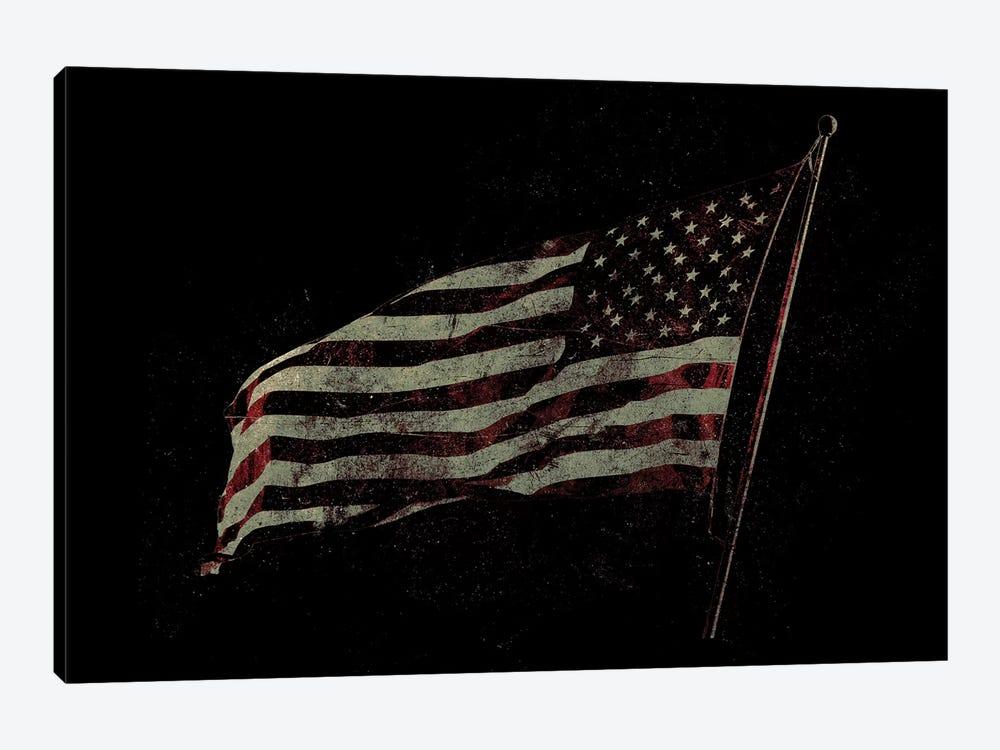 American Flag by 33 Broken Bones 1-piece Canvas Print