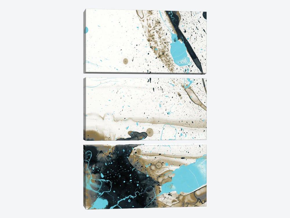 Lockdown Ink II by 33 Broken Bones 3-piece Canvas Art