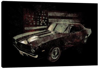 American Muscle Car I Canvas Art Print