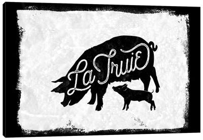 La Truie Canvas Art Print