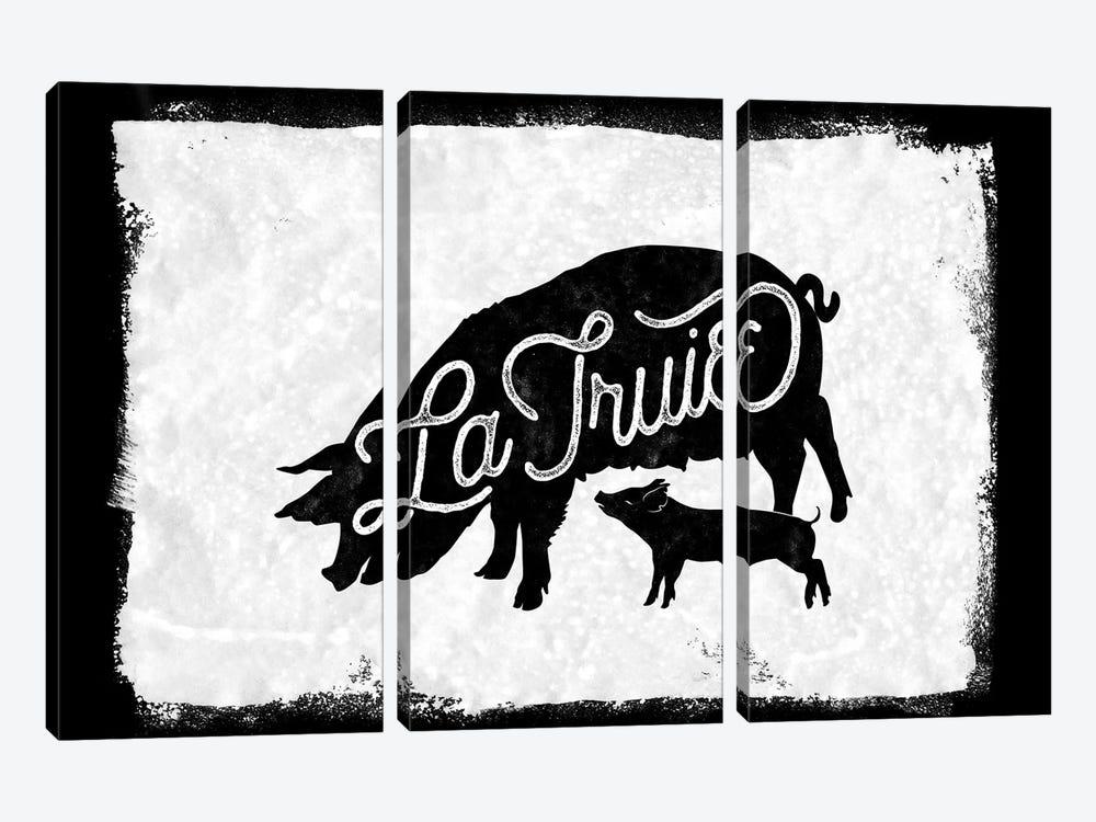 La Truie by 33 Broken Bones 3-piece Art Print