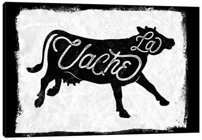 La Vache Canvas Art Print