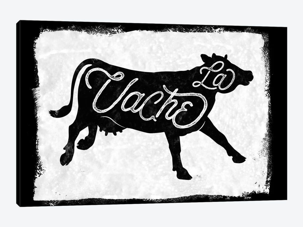La Vache by 33 Broken Bones 1-piece Canvas Artwork