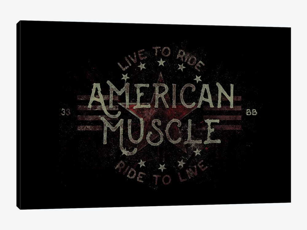 Live To Ride 1-piece Canvas Art