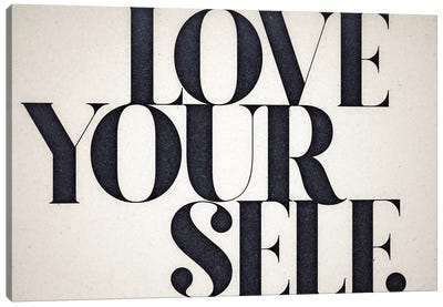 Love Yourself Canvas Art Print