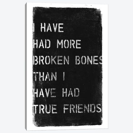 More Broken Bones Canvas Print #BNZ37} by 33 Broken Bones Canvas Art