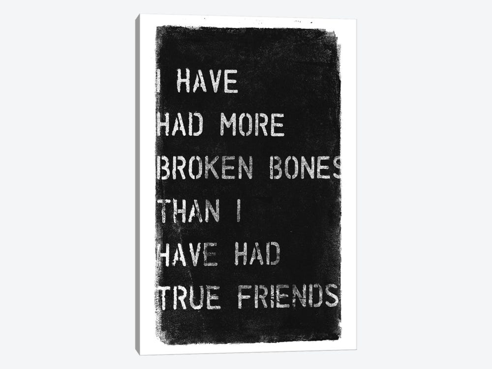 More Broken Bones by 33 Broken Bones 1-piece Canvas Art