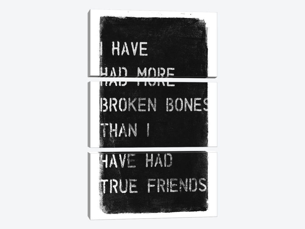More Broken Bones by 33 Broken Bones 3-piece Canvas Wall Art