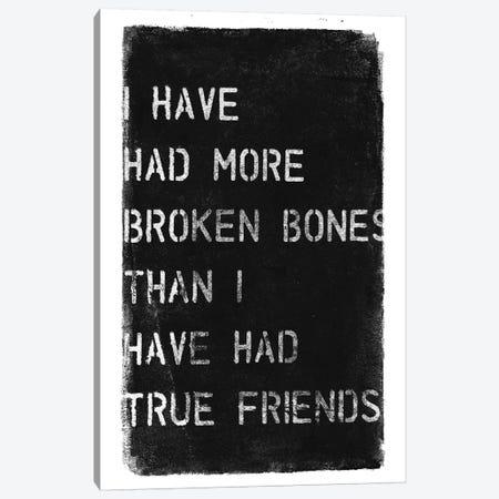 More Broken Bones Canvas Print #BNZ37} by 33 Broken Bones Canvas Art