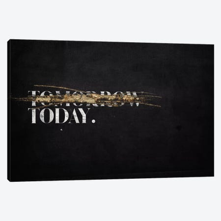 Not Tomorrow Canvas Print #BNZ38} by 33 Broken Bones Canvas Art Print