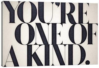 One Of A Kind Canvas Art Print