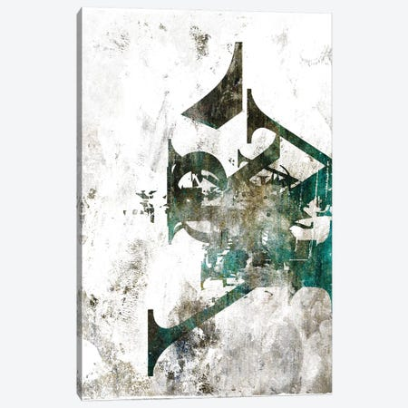 Typograpathy I Canvas Print #BNZ44} by 33 Broken Bones Canvas Art Print