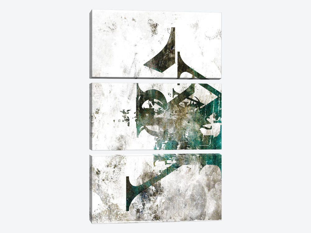 Typograpathy I 3-piece Canvas Artwork