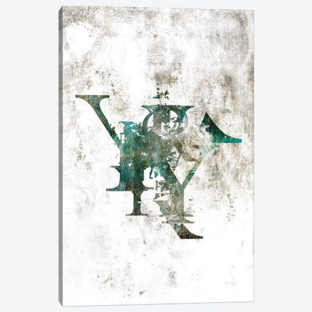 Typograpathy II Canvas Print #BNZ45} by 33 Broken Bones Canvas Art Print