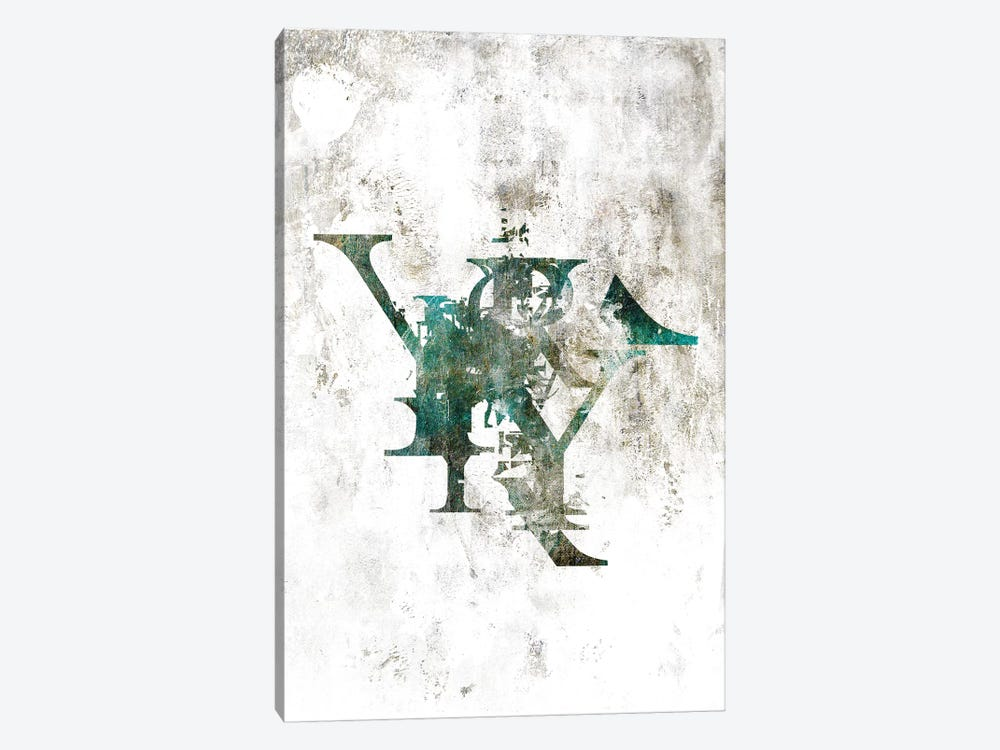 Typograpathy II by 33 Broken Bones 1-piece Canvas Print