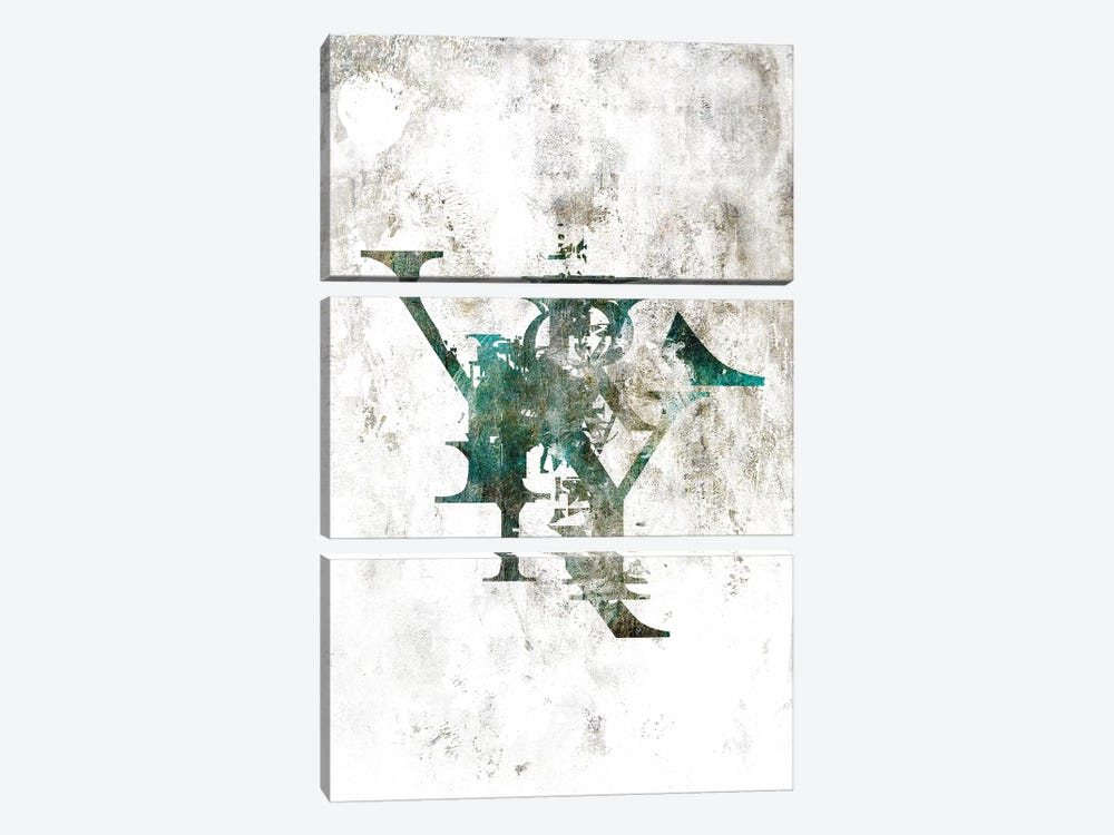 Typograpathy II by 33 Broken Bones 3-piece Art Print