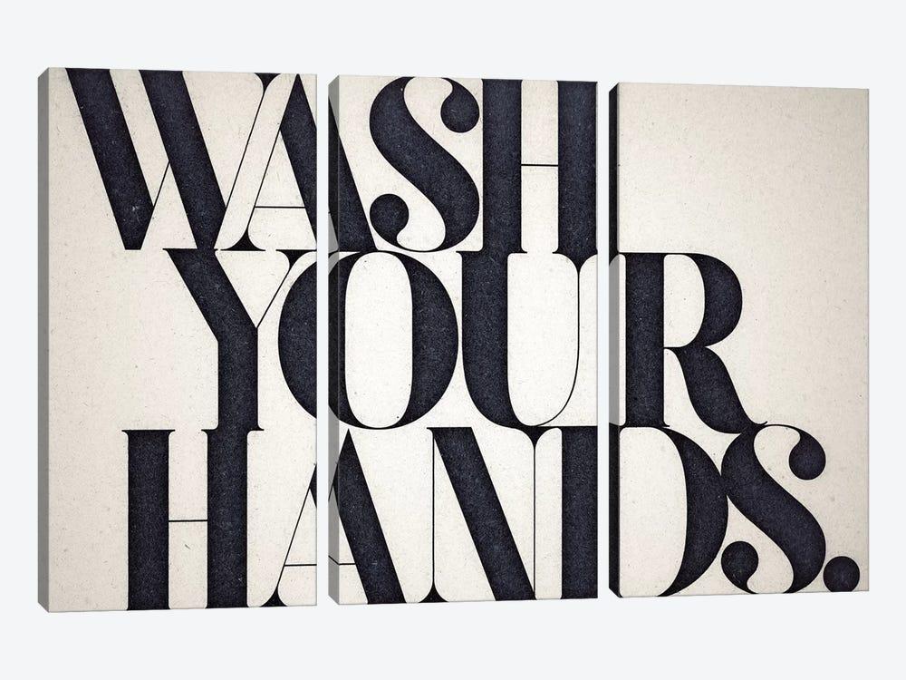 Wash Your Hands by 33 Broken Bones 3-piece Canvas Art