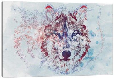 Watercolor Wildlife II Canvas Art Print