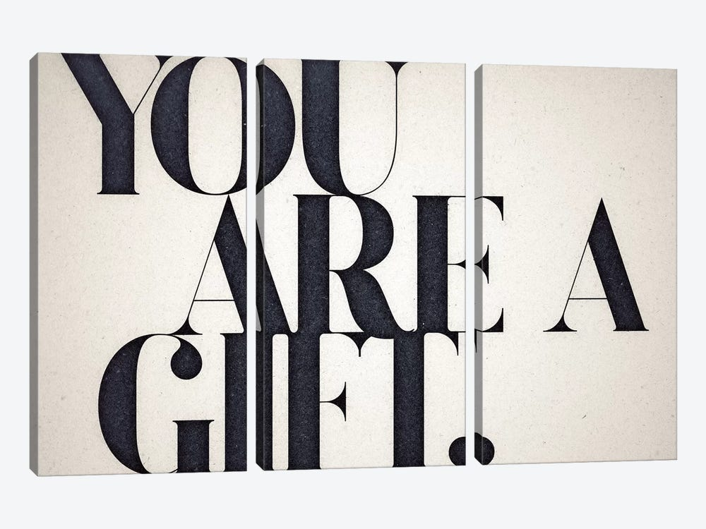 You Are A Gift by 33 Broken Bones 3-piece Art Print