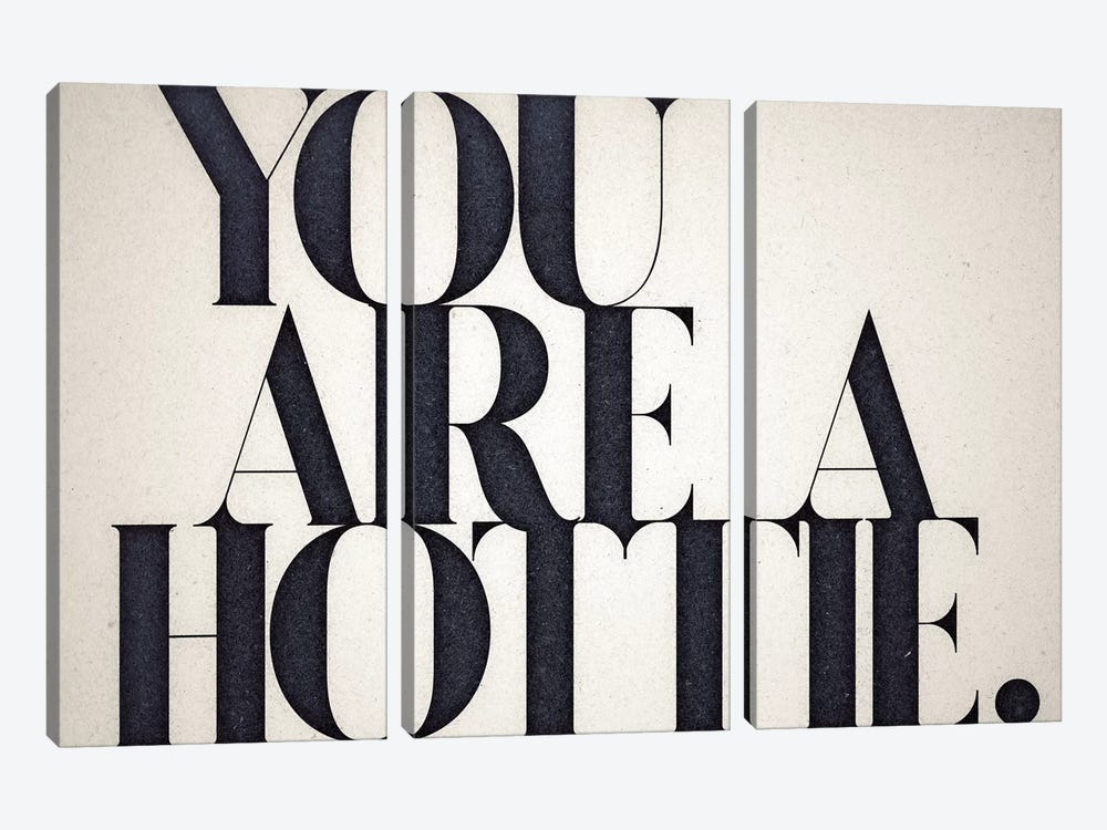 You Are A Hottie 3-piece Canvas Art Print