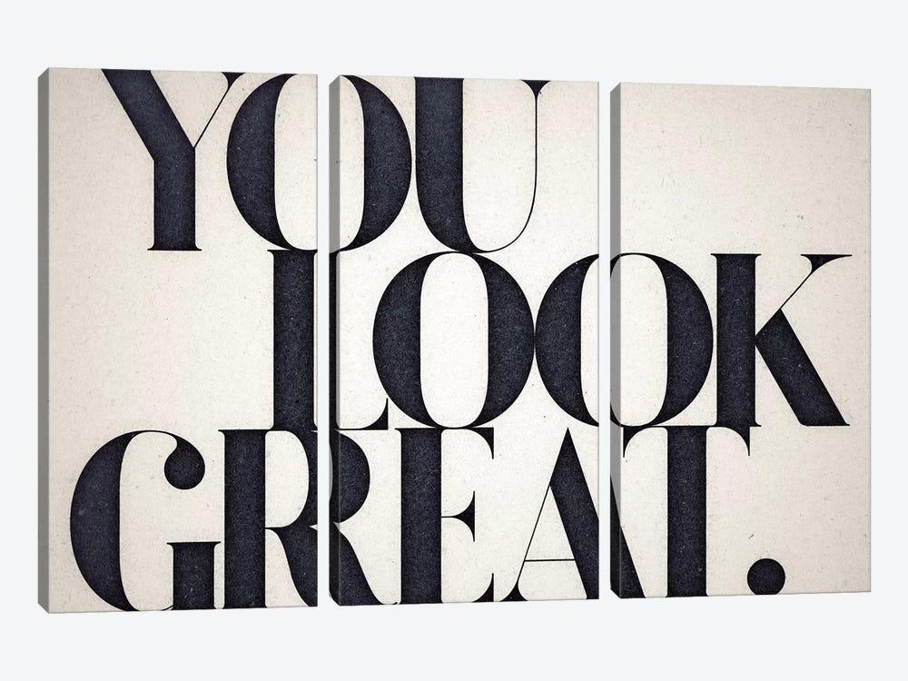You Look Great by 33 Broken Bones 3-piece Canvas Wall Art