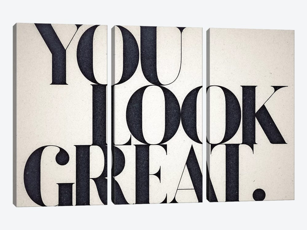 You Look Great 3-piece Canvas Wall Art