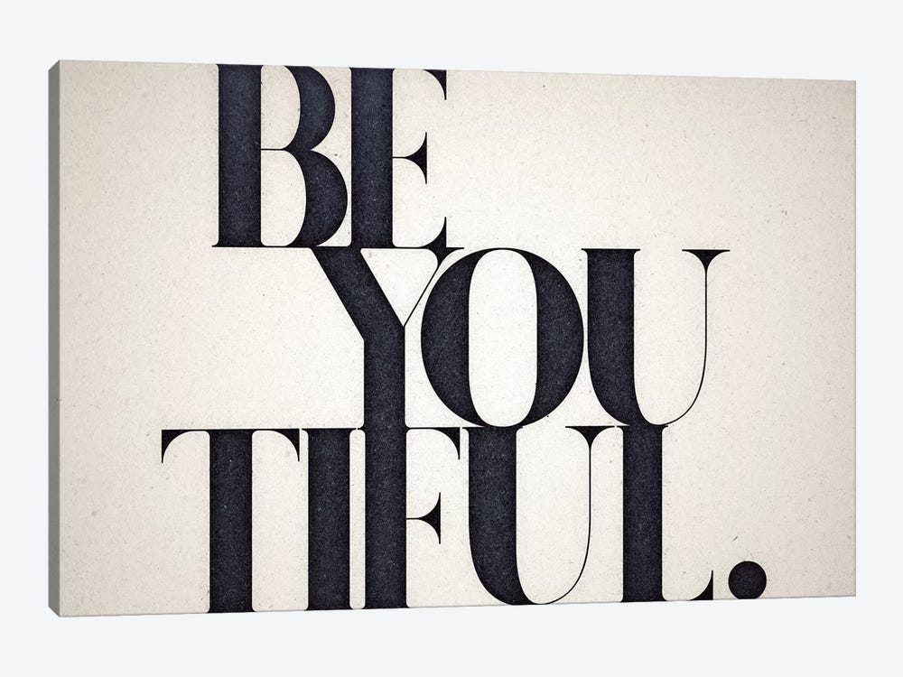 Be You Tiful 1-piece Canvas Art Print
