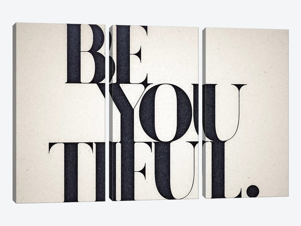Be You Tiful 3-piece Canvas Print