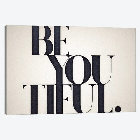 Be You Tiful Canvas Print #BNZ5} by 33 Broken Bones Canvas Artwork