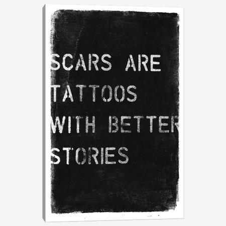 Better Stories Canvas Print #BNZ7} by 33 Broken Bones Canvas Art
