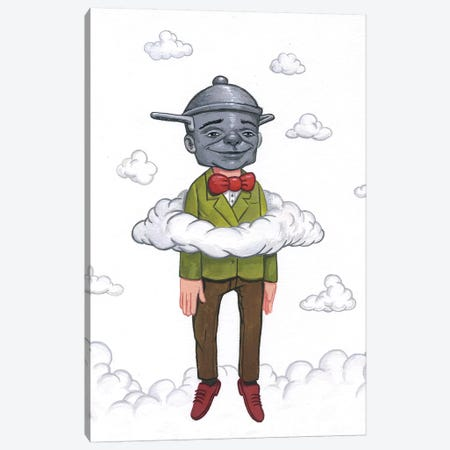 In The Clouds I Canvas Print #BOD12} by Bob Dob Canvas Art