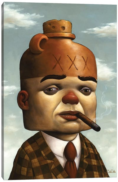 Jug Head Canvas Art Print