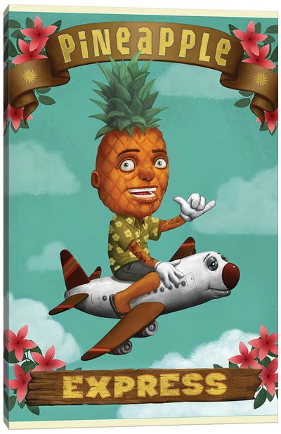 Pineapple Express Canvas Art Print