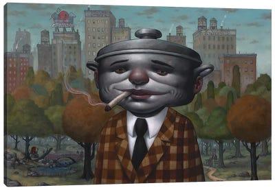 Pot Head II Canvas Art Print