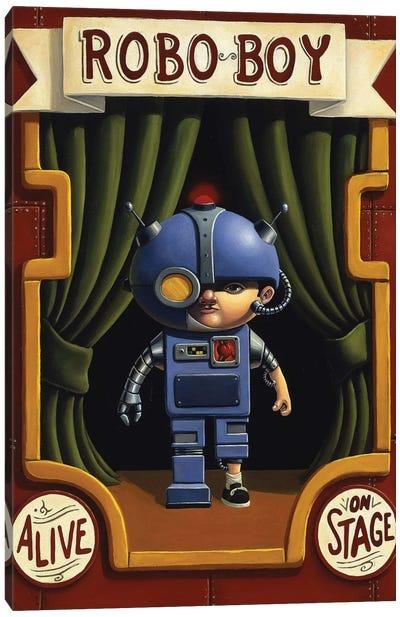 Robo Boy Canvas Art Print